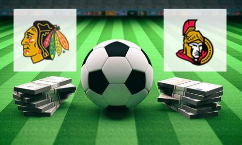 Chicago Blackhawks vs Ottawa Senators