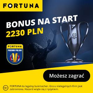 Fortuna - puchar polski - bonus