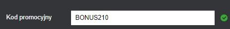 Kod promocyjny Fortuna sierpień 2020: Bonus210