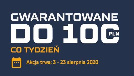 STS - gwarantowane 100 zł co tydzień