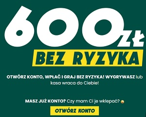 600 zł bez ryzyka w Betfan - bukmacherzy.com bonusy